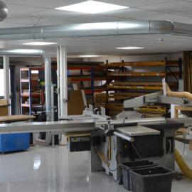 large modern workshop