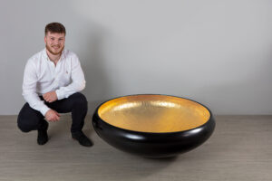 Jed Corbett a 50 week student at Robinson House-Studio, furniture design courses